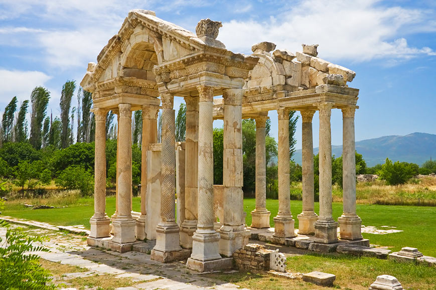 The Temple of Aphrodite, Aphrodisias