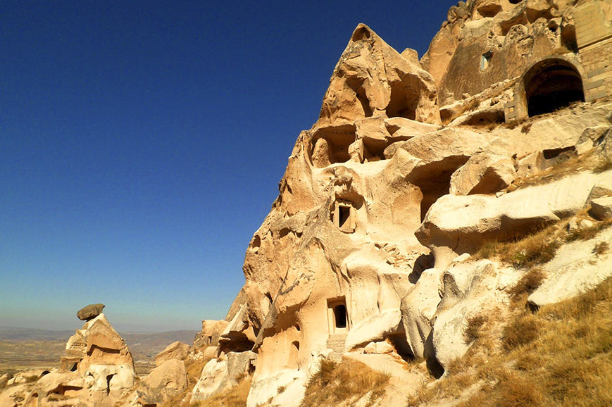 Ruined City in Cappadocia