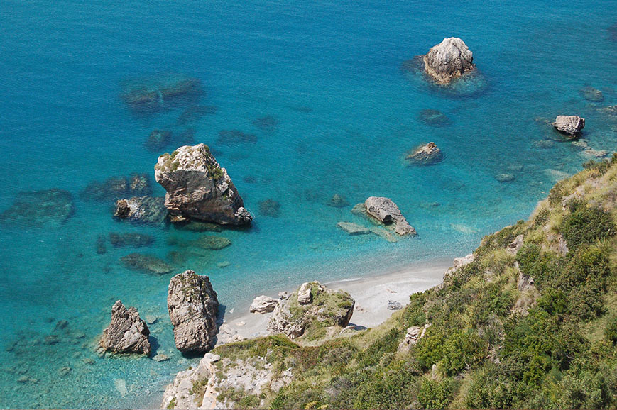 Grand Hotel San Michele beach