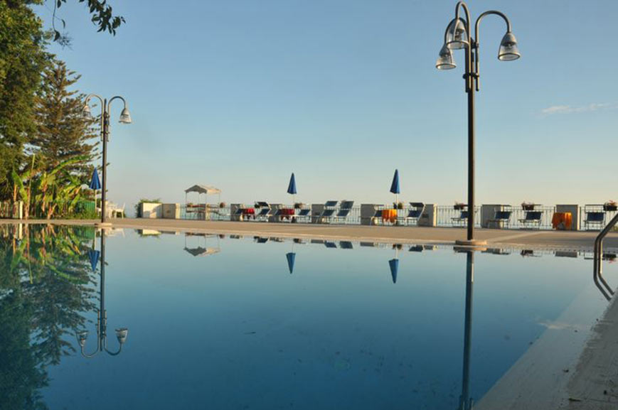 Grand Hotel San Michele swimming pool