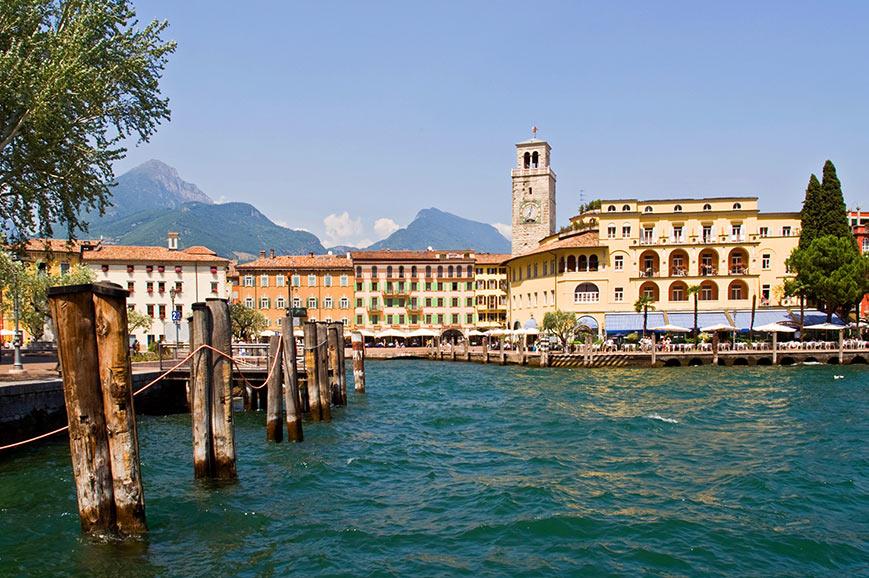 Riva del Garda harbour