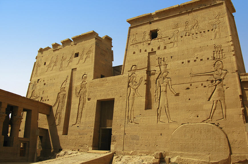 Temple of Isis at Philae Island
