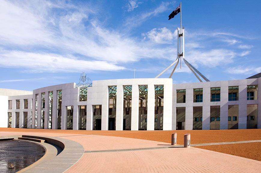 Parliament Building, Canberra