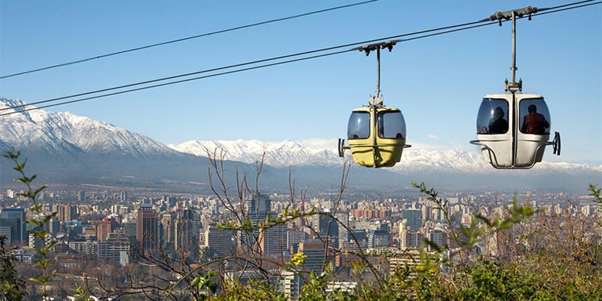 Cable Car, Santiago
