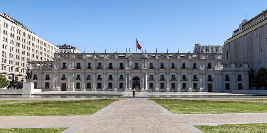 Presidential palace, Santiago