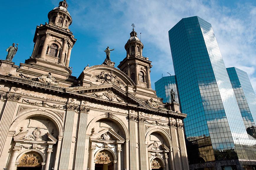 Presidential palace, Santiago