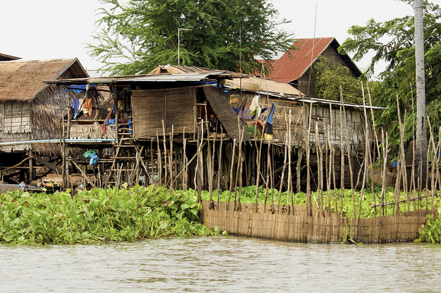 Houses on Stilts, Mekong Delta
