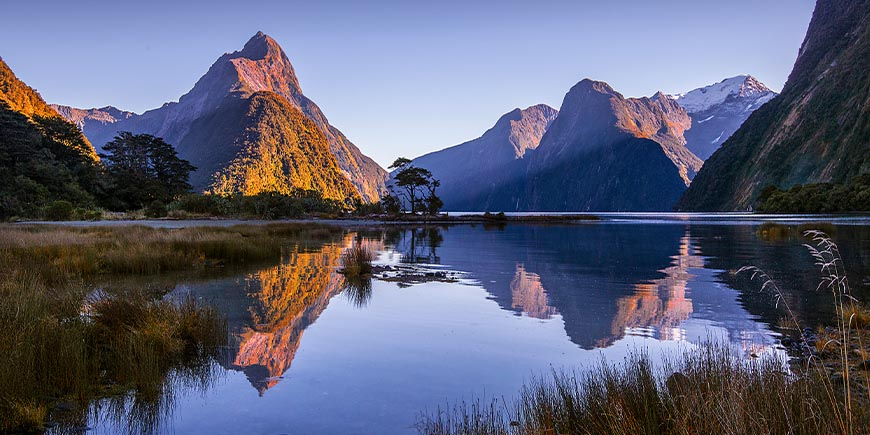 Milford Sound by boat