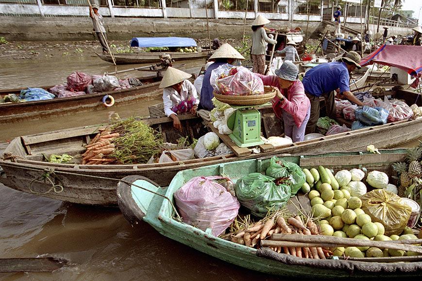 Floating Market, Cai Rang