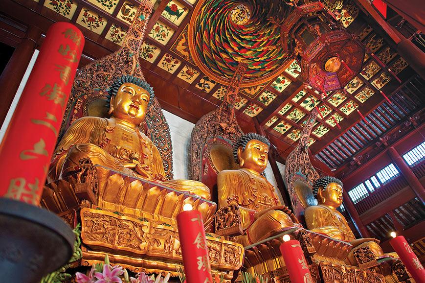Buddha, Temple, Shanghai