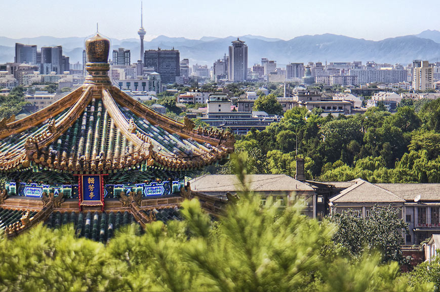 Panoramic view of Beijing
