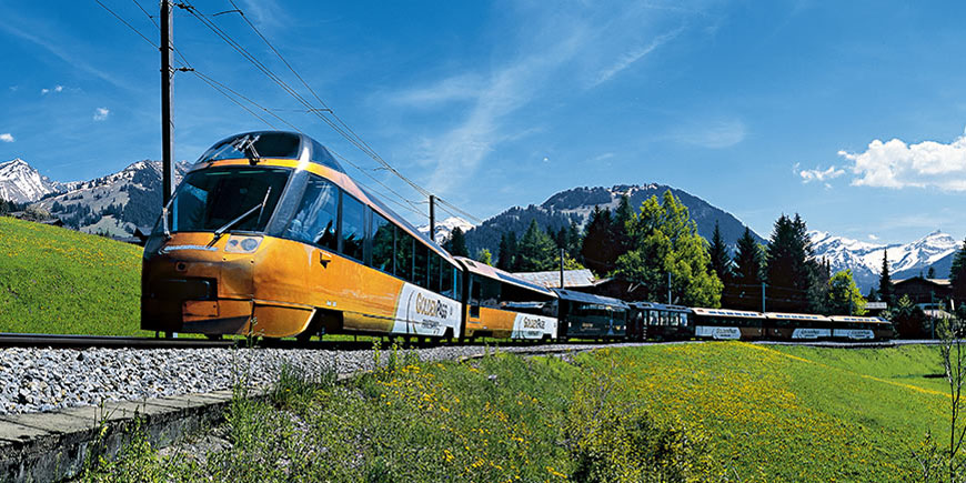 Golden Pass classic train