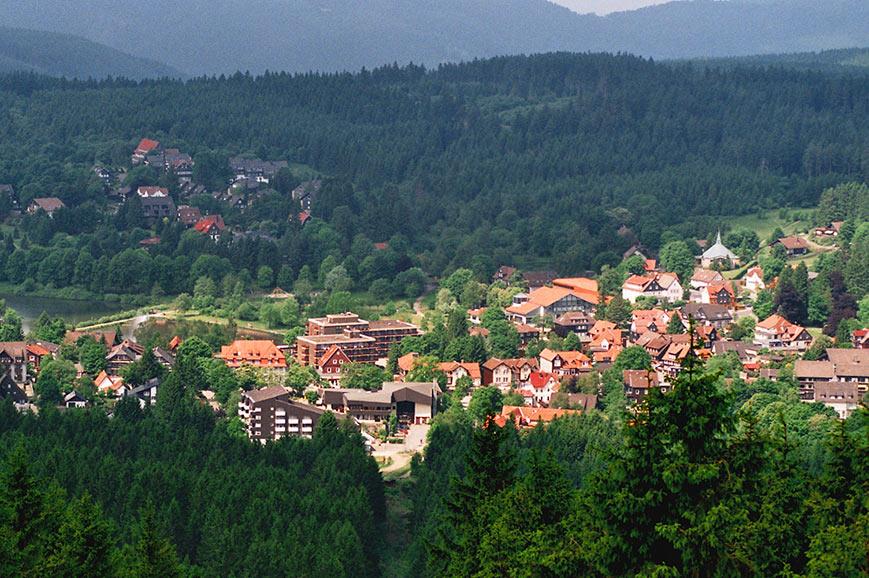 Hahnenklee, village in the Harz