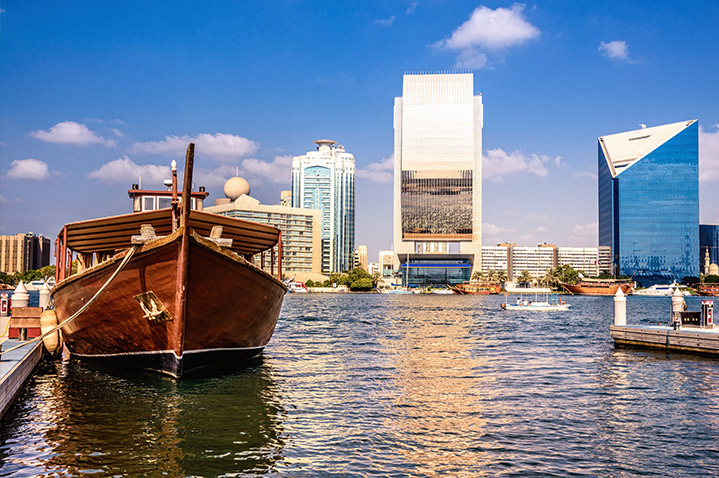 Dhow in Dubai Creek