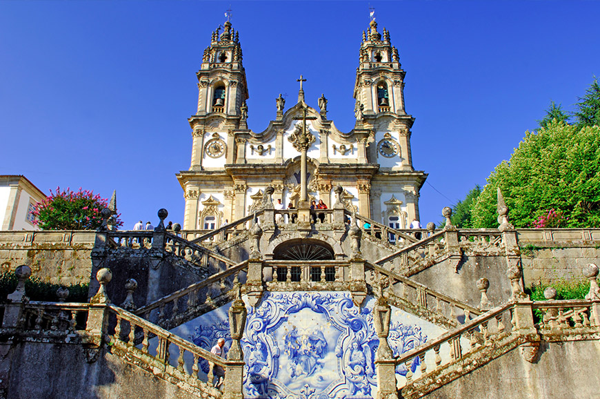 Sanctuary of Our Lady of Remedios in Lamego