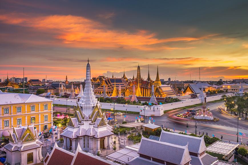 Reclining Buddha, Bangkok