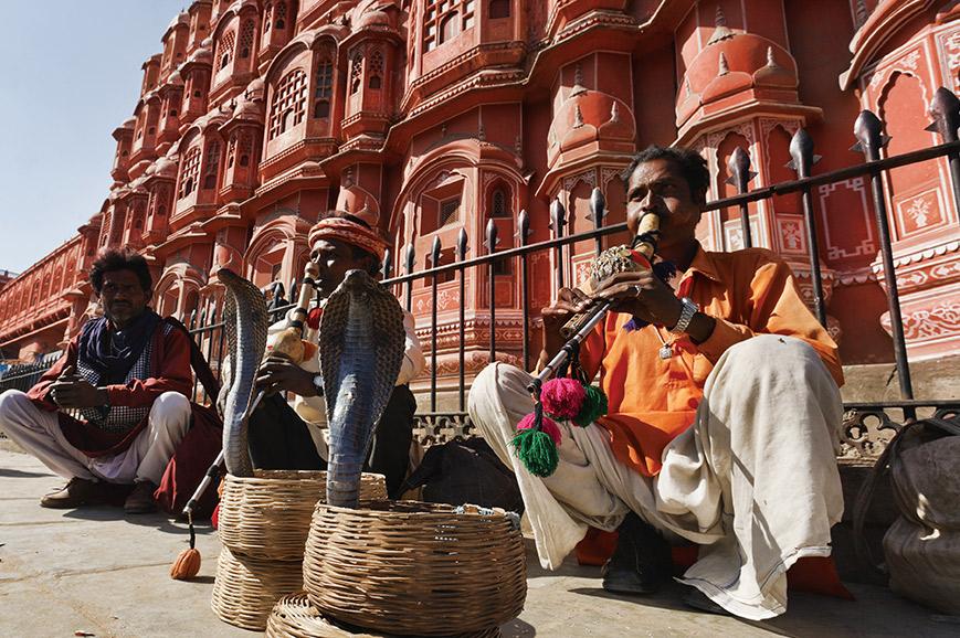 Snake Charmers, Amber Fort, Jaipur