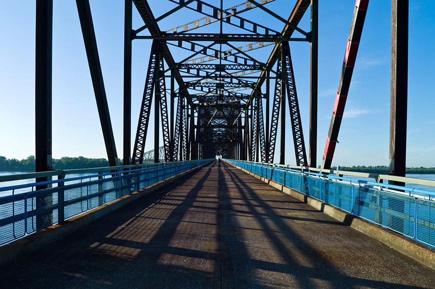 Bridge over the Mississippi in Missouri