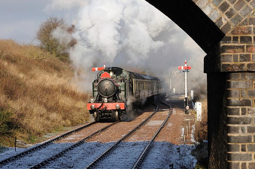 Steam Train at Toddington