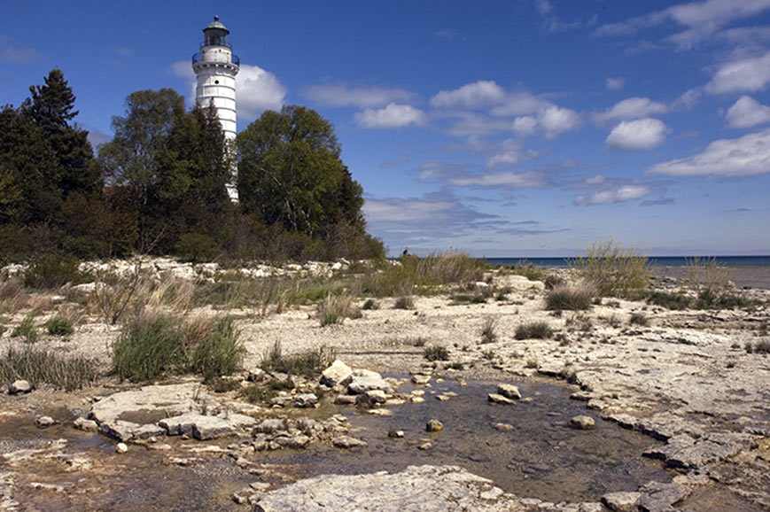 Cana Island Lighthouse, Baileys Harbor