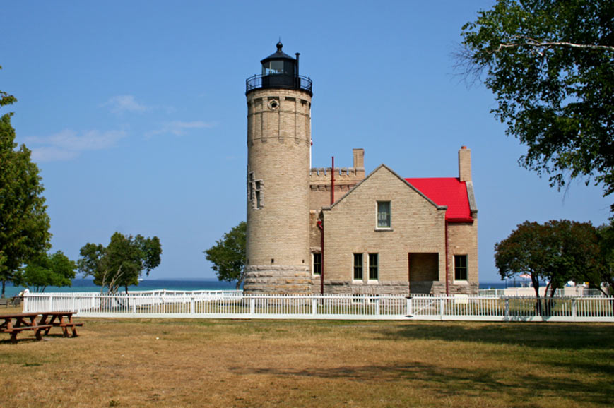 Old Mackinac Point Light, Mackinaw City