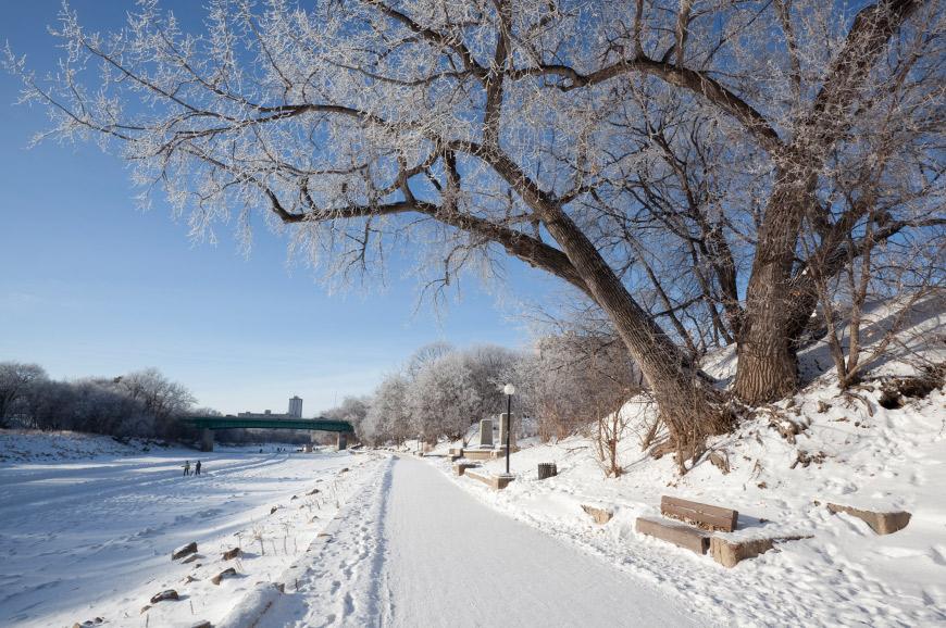 Forks area, Winnipeg