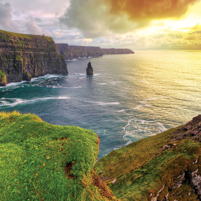 Irish Discovery By Air