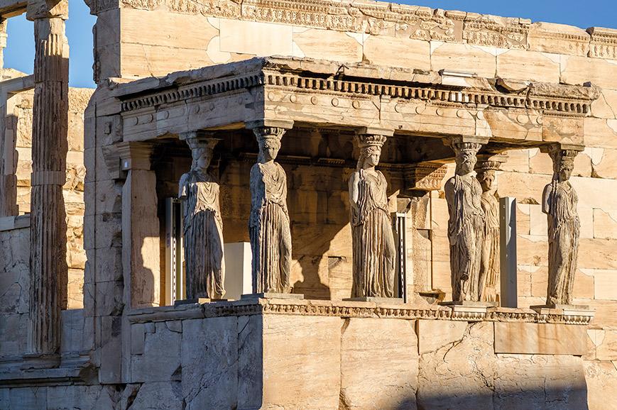 Caryatids, Parthenon