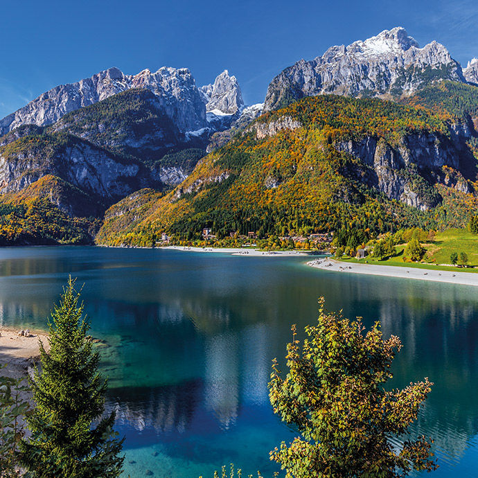 Secret Lakes of Italy