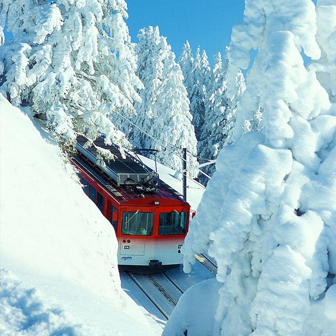 Swiss Lakes & Snowflakes