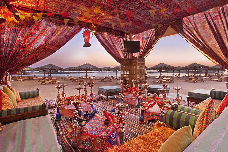 Beach Balcony, Hilton Hurghada Plaza