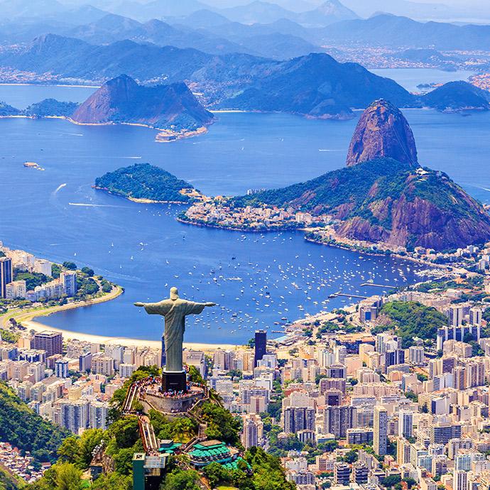 Chile, Argentina & Brazil