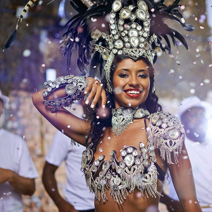 Chile, Argentina & Brazil Rio Carnival Winners' Parade