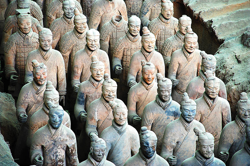 The Terracotta Army, Xian
