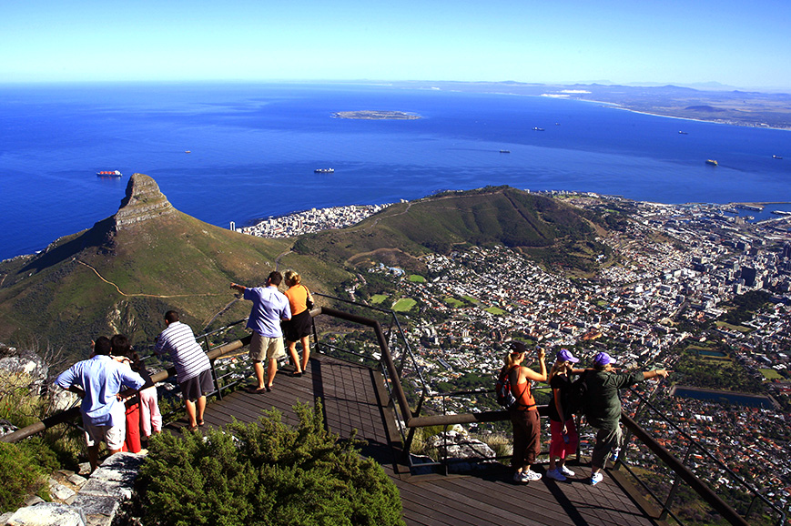 Sightseeing from Table Mountain
