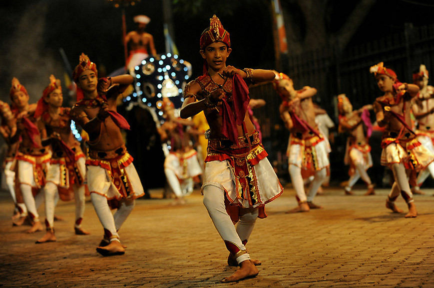 Colonial Highlights of Ceylon - Kandy Esala Perahera Festival
