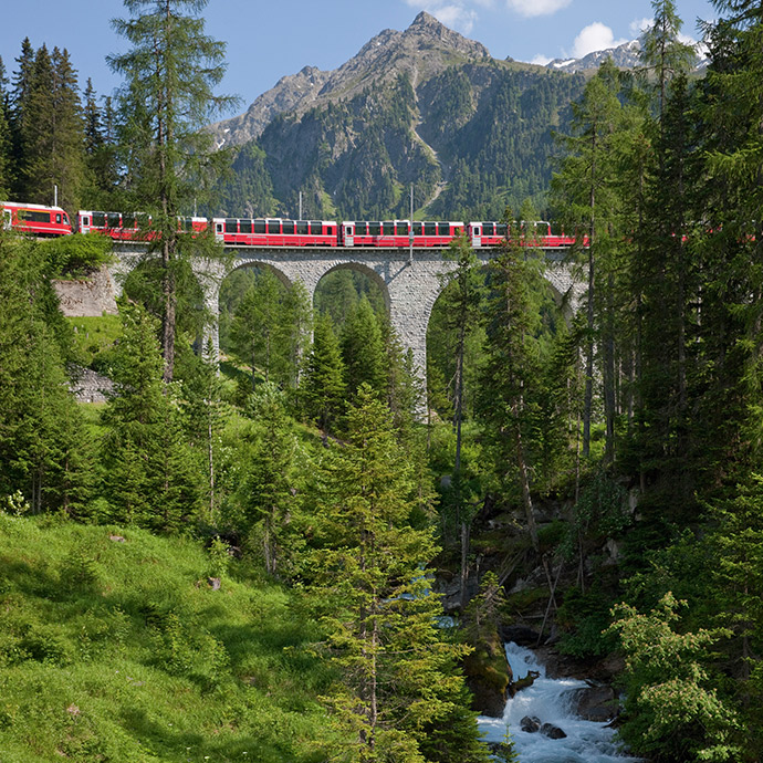 Deluxe Swiss Railways
