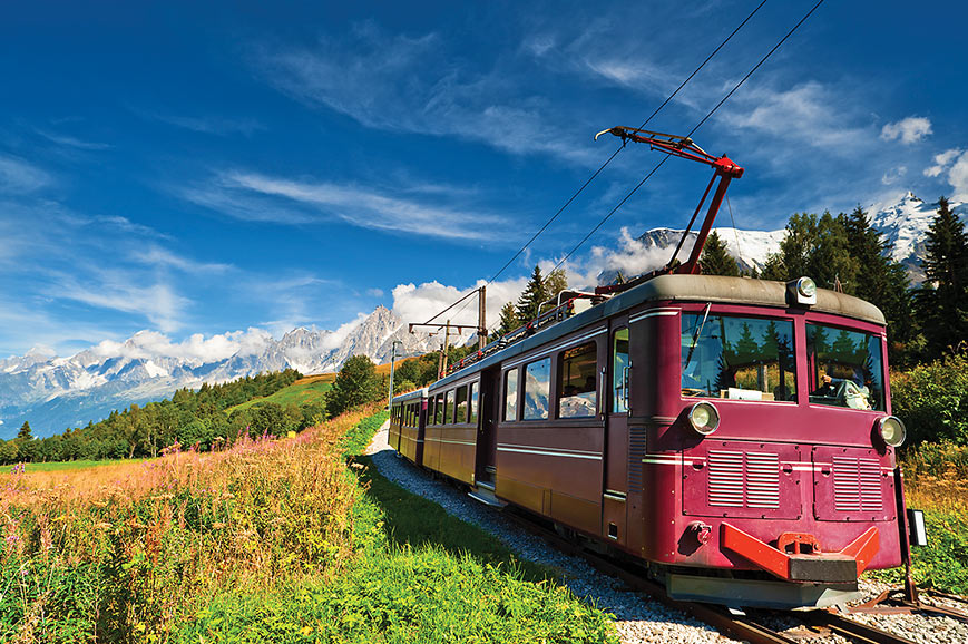 Lake Annecy & Chamonix by Rail