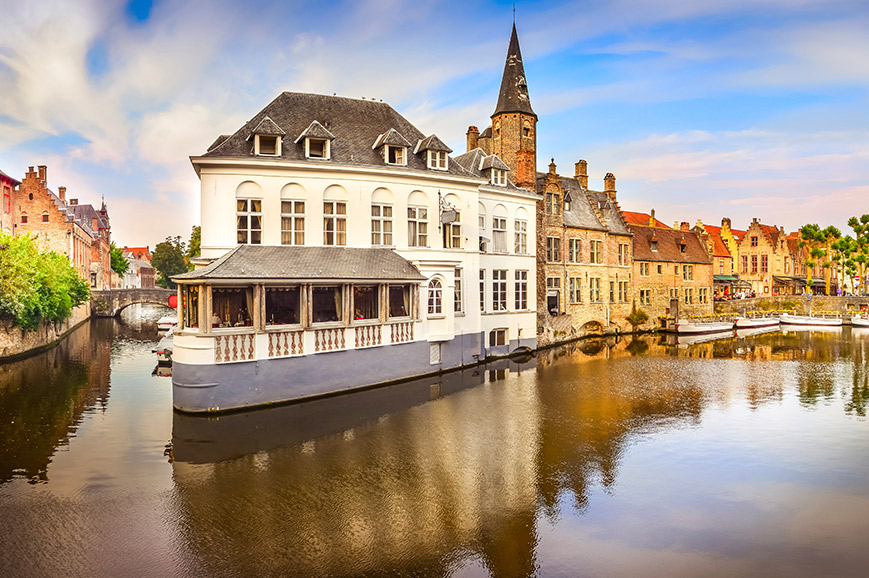 Lille & Bruges Weekend By Rail
