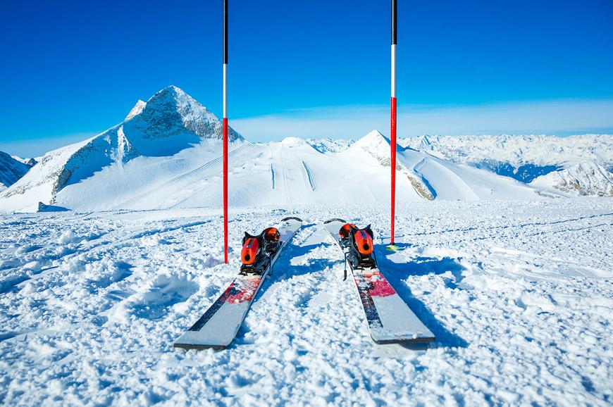 Skis, Zillertal Valley