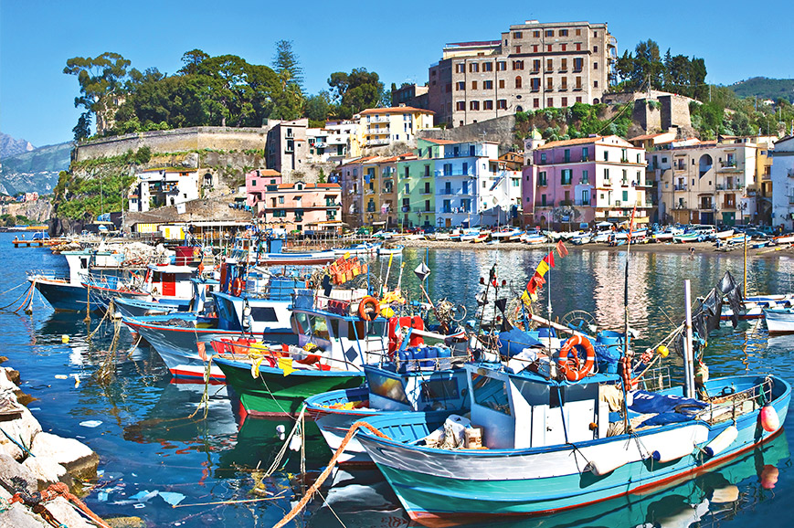 Image result for sorrento italy in the bay of naples