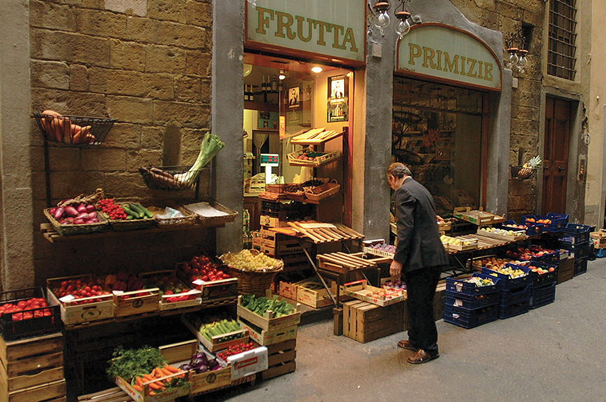 Local shop, Florence