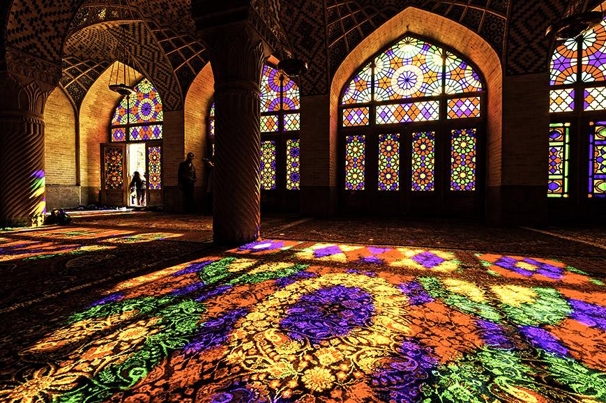 Lasir ol Molk mosque, Shiraz
