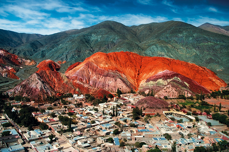 Argentina, Seven colours mountain