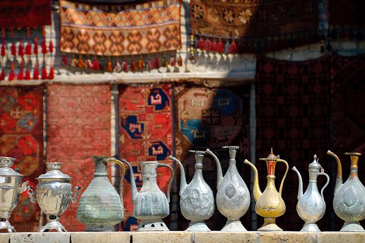 Bazaar, Samarkland