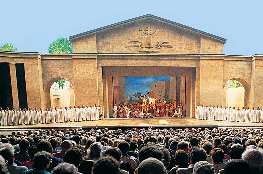 Oberammergau Passion Play Innsbruck & the Dolomites