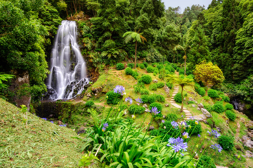 The Green Island of the Azores