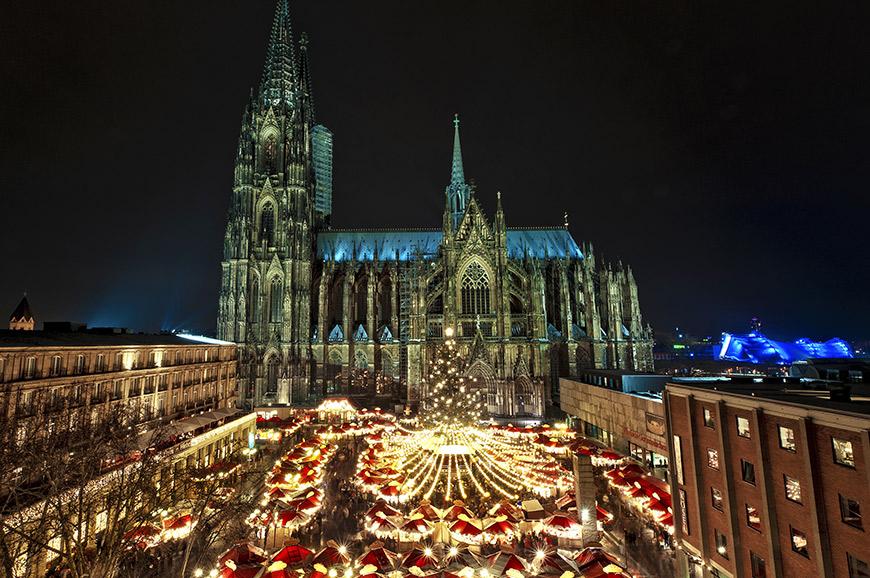Dusseldorff Christmas market