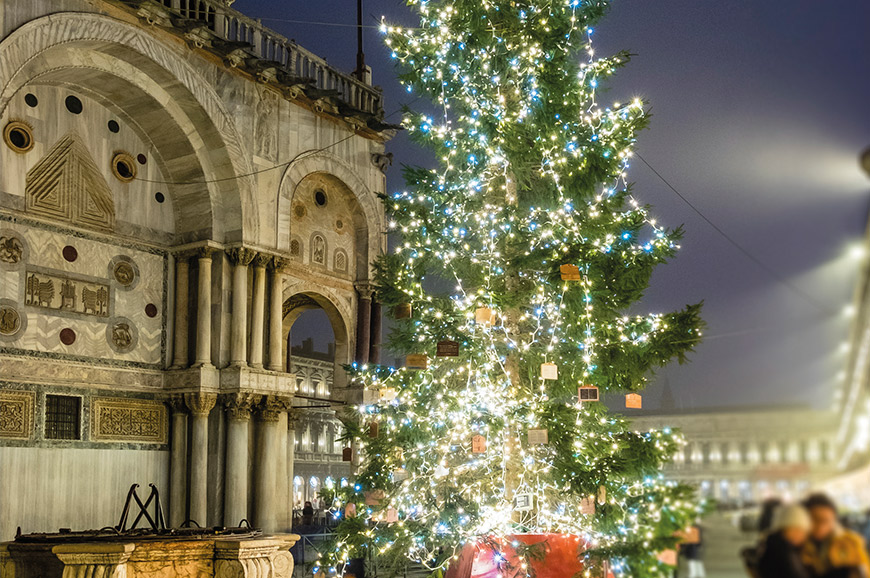 Christmas Tree in Venice