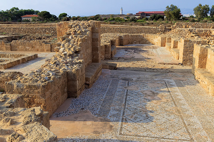 Paphos archaeological site